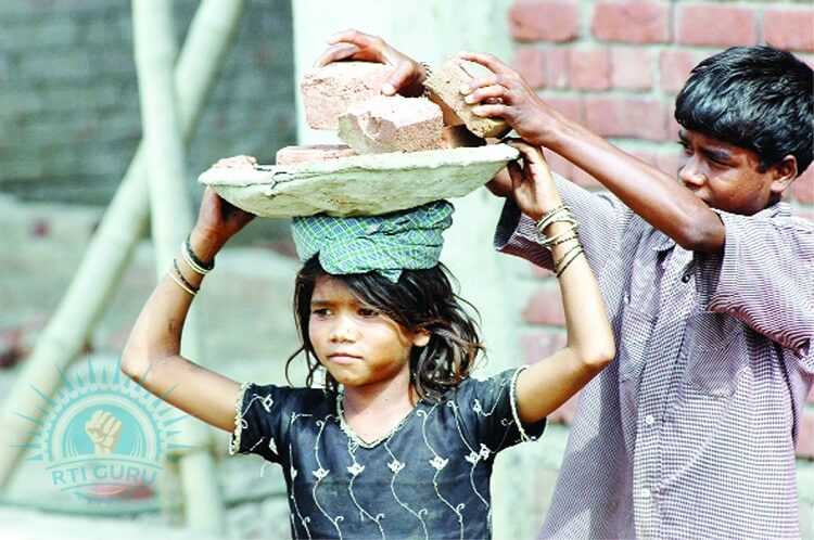 second rti application child labouring