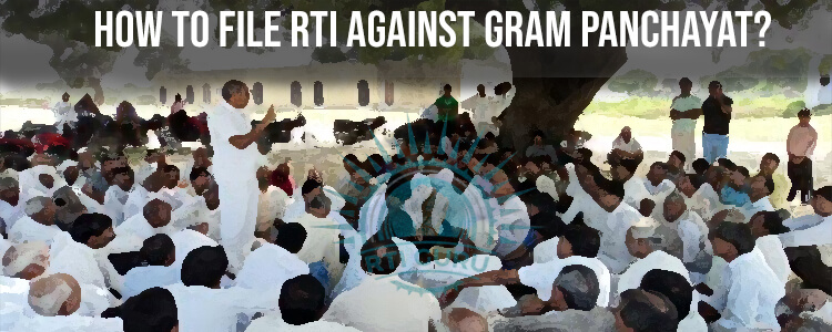 How To File Online RTI For Gram Panchayat