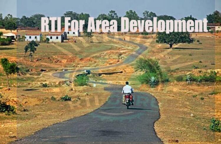 RTI FOR AREA DEVELOPMENT