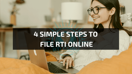4 Simple Steps to file RTI online