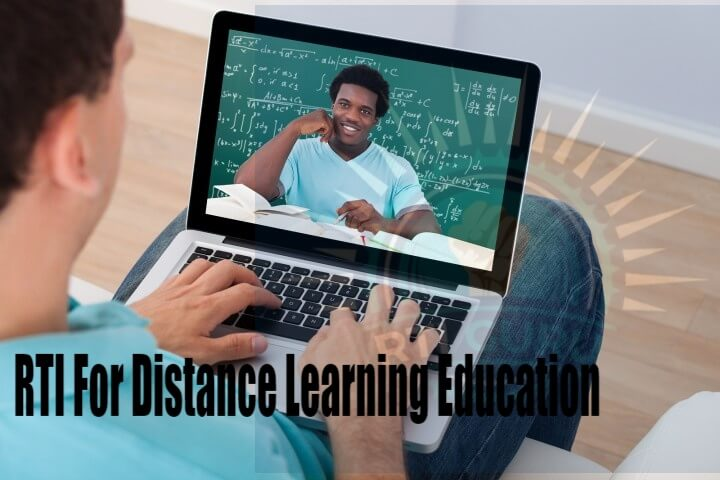 second rti application rti for distance learning education