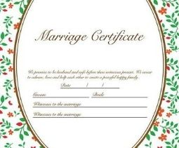second rti application marriage certificate and registration