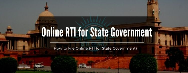 second rti application online rti for state government india