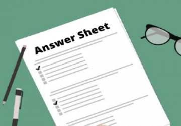 answer sheet under rti act