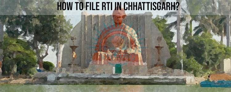 File RTI Online Chhattisgarh,Online RTI Application Chhattisgarh