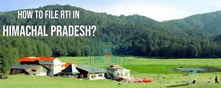 how to file rti for himachal pradesh?
