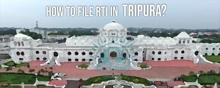 File RTI Online Tripura,RTI online Tripura
