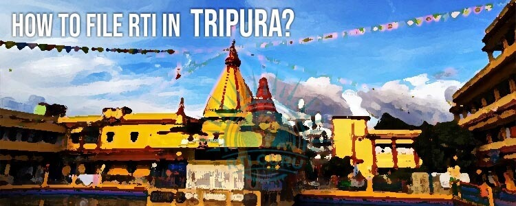 how to file rti for tripura?