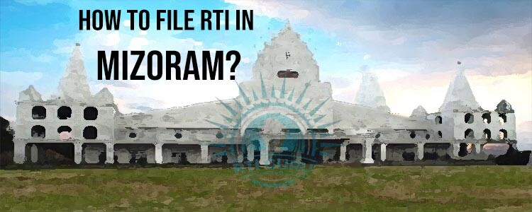 How To File RTI For Mizoram?