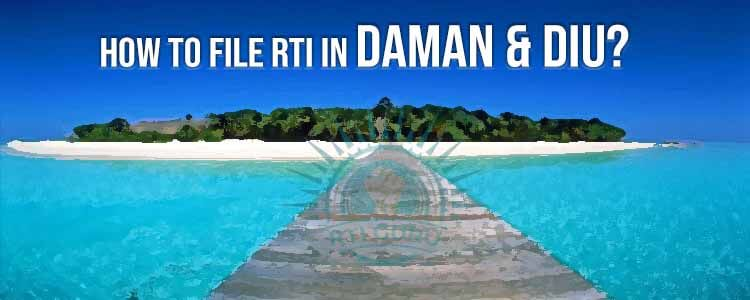 how to file rti for daman&diu?