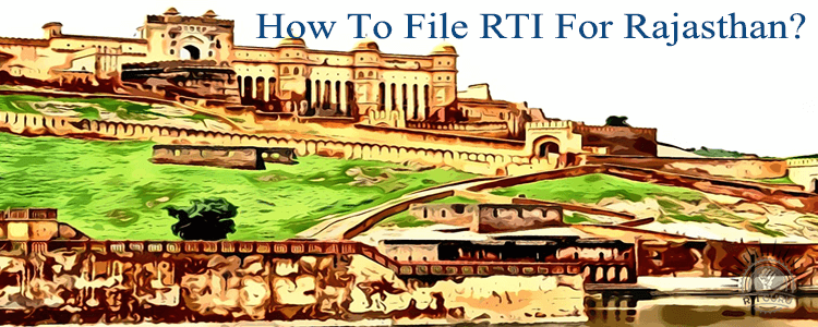how to file rti for rajasthan?