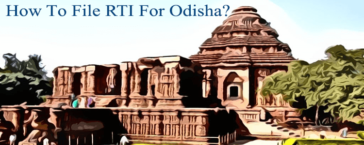 how to file rti for odisha?