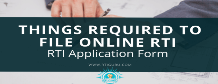 second rti application important things required to file online rti application?